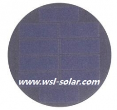 5V 40mA round solar panel - Sunpower solar cell panel