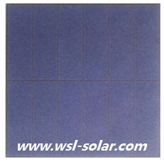 6V 1.2W  solar cell panel 1.2