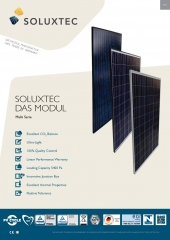 Soluxtec DAS MODUL FR60 250 - 270W Multi Serie