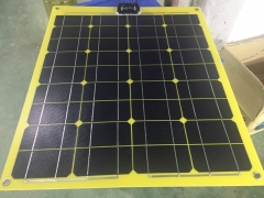 95W 18V yellow flexible solar panel 95