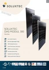 SOLUXTEC - DAS MODUL FR60 300 WP Mono Serie