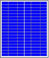20 Watts 18.0 Volts solar panel