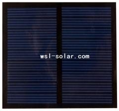 0.63W 70mA PET solar panel 0.63