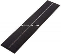 Long strip PET solar panel 2.3W