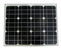 Monocrystalline photovoltaic modules 50 Wp 50