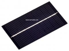 5 volt 150mA sedikit kekuasaan panel surya 0.75