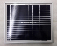11 Watts 18 V AL-framed solar panel