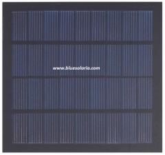 12.5cm x 13.5cm 1.8W 9V solar panel 1.8