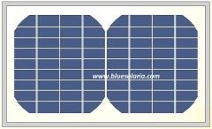 5.5W 18V monocrystalline solar panel 5.5