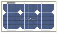 12W 18V photovoltaic sun module 12