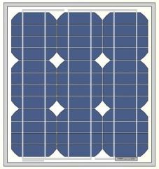 24W 18V monocrystalline solar panel