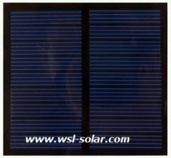 9V 0.5W PET Photovoltaic Panel 0.54