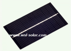 5V Solar Panel 0.65W 130mA 0.65