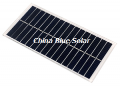2W 8V solar pv module, China Blue Solar 2