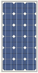 82Watts 18Vots mono solar panel
