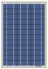 18V 52W off-grid solar panel 52