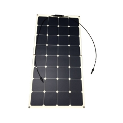 Sunpower semi-flexible solar panel