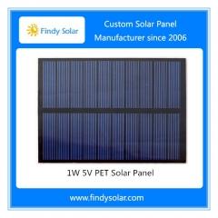1W 5V PET Solar Panel