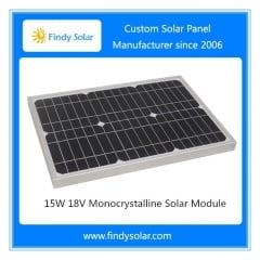 15W 18V Monocrystalline Solar Module