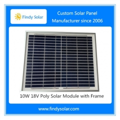 Solar Panel 10W 18V Multicrystalline