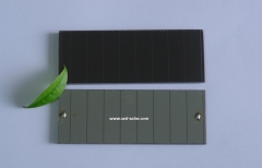 mini amorphous silicon solar cell