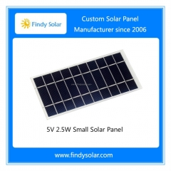 5V 2.5W Small Solar Panel, Monocrystalline