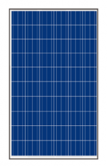 Poly 40W-75W (36 Cells)156mm x 78mm