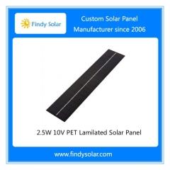 2.5W 10V PET Laminated Solar Panel
