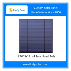 3.7 Wp 5.5V Small Solar Panel Poly