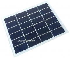3W/6V solar panel for bollard