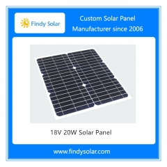 18V 20W Solar Panel