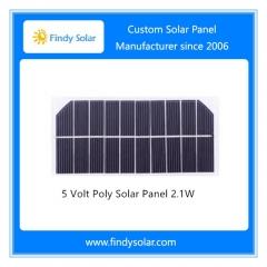 5 Volt Solar Panel 2.1W