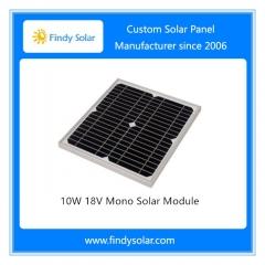 10W 18V Mono Solar Module