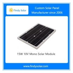 15W 18V Mono Solar Module