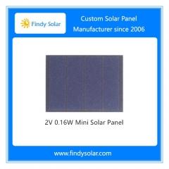 2V 0.16W 80mA Mini Solar Panel