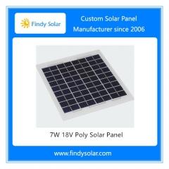 7W 18V Poly Solar Panel