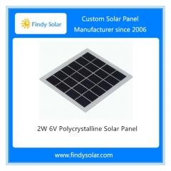 2W 6V Polycrystalline Solar Panel
