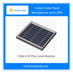 3 Wp 4.5V Poly Solar Module