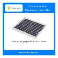 10W 9V Polycrystalline Solar Panel