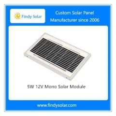 5W 12V Monocrystalline Solar Module