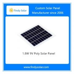 1.8W 9V Poly Solar Panel