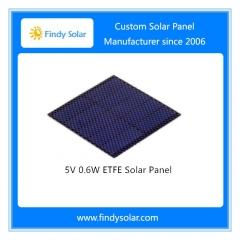 5 Volt 0.6W ETFE Solar Panel