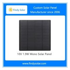 1.9W 10V PET Solar Panel