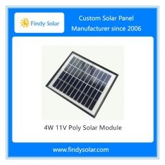 4W 11V Poly Solar Module