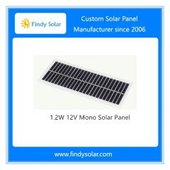 1.2W 12V Mono Solar Panel