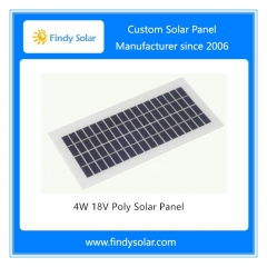 4W 18V Poly Solar Panel