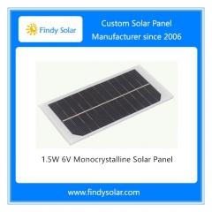 1.5W 6V Monocrystalline Solar Panel