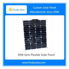 60W Semi Flexible Sunpower Solar Panel