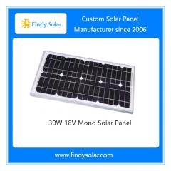 30W 12V Mono Solar Panel