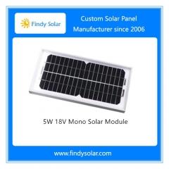 5W 12V Mono Solar Panel